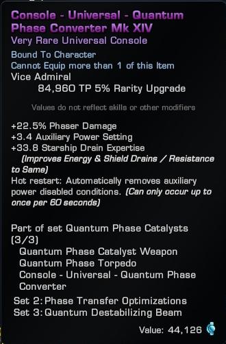 Quantum-Phaser-converter