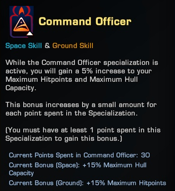 Specialization-Command-Officer