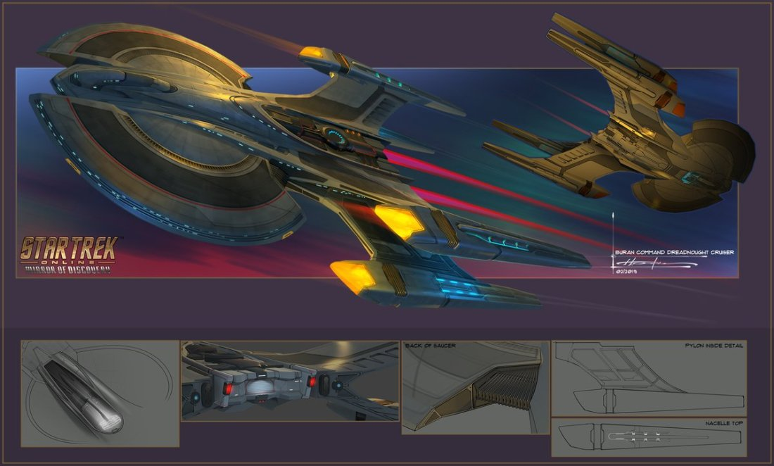 USS Zond concept
